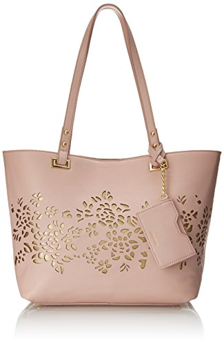 Nine West Ava Tote Shoulder Bag, Peach Rose, One Size