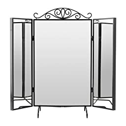 Ikea Table mirror, black 10210.291429.188