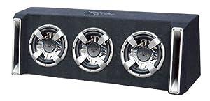Lanzar VCHB310 Vector 3000-Watt Triple 10-Inch Slim-Designed Bass Box Enclosure by Sound Around