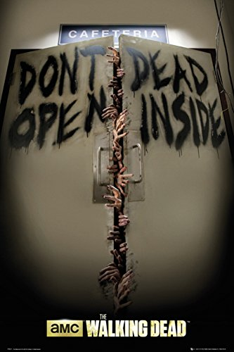 The Walking Dead - Keep Out Poster 24 x 36in