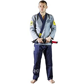 Scramble The Rebel BJJ Gi Grey/Navy