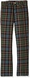 US Polo Boys' Trousers (UKTR5101_Melange Blue_EXS)