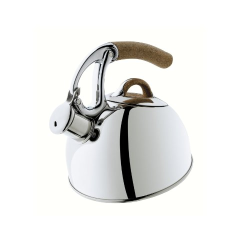 OXO Good Grips Anniversary Edition Uplift Tea Kettle, Polished Stainless Steel