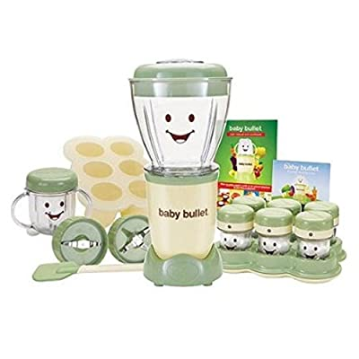 As Seen on Tv Baby Bullet Baby Food Maker, Bpa-free, 20-piece Set Bbr-2001wm by Baby Bullet that we recomend personally.