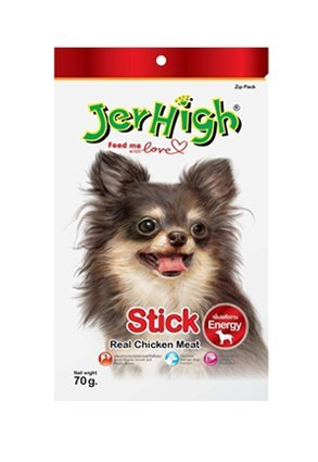 Paws For A Cause Jerhigh Real Chicken Chew Sticks - 70 Gms Each (Pack Of Three), Stick Flavour