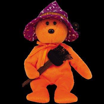 Imagen de IDAD Beanie Baby - Prunella el oso (Hallmark Gold Crown Exclusivo)