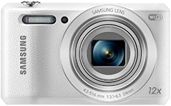 Samsung WB35F smart camera, 16 Megapixel, Zoom ottico 12x, display 2.7 pollici, Bianco