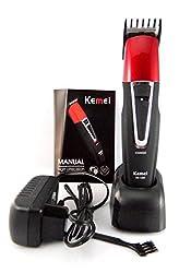 Kemei KM-1008 RECHARGEABLE Beard & Moustache HAIR Clipper & Trimmer for Men
