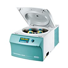 Hettich 1406-01 Universal 320R Refrigerated Benchtop Centrifuge, 346 x 401 x 695mm (H x W x D), -20 to 40 Degree C, 1 sec to 99 min, 59 sec, 15000 rpm