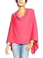 SO Cachemire & Knitwear Poncho Liv (Rojo)