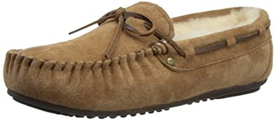 Emu Womens Amity Slippers W10555 Chestnut 3 UK, 35 EU, 5 US, Regular
