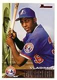 1995 Bowman Baseball Vladimir Guerrero Rookie Card