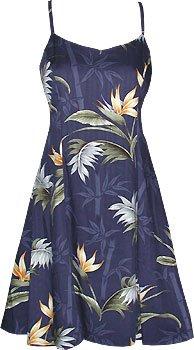 Bamboo Paradise Hawaiian Aloha Sun Dress