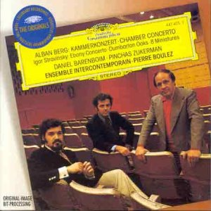 Berg: Chamber Concerto / Stravinsky: Ebony Concerto; Dumbarton Oaks; 8 Miniatures from Import Music Services