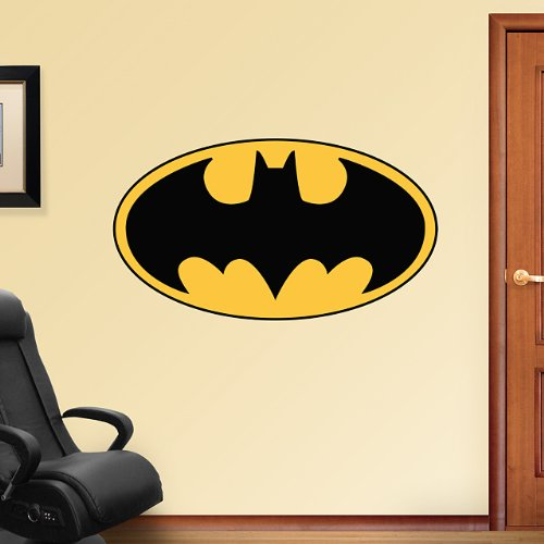 DC Comics Batman Logo Vinyl Wall Graphic Decal Sticker