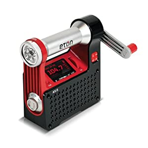 Eton NPT300WXB Axis Self-Powered Safety Hub with Weather Radio and USB Cell Phone Charger (Discontinued by Manufacturer)