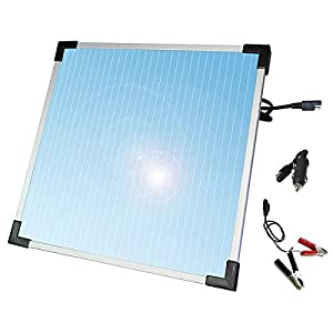Sunforce 50022 5-Watt Solar Battery Trickle Charger from Sunforce