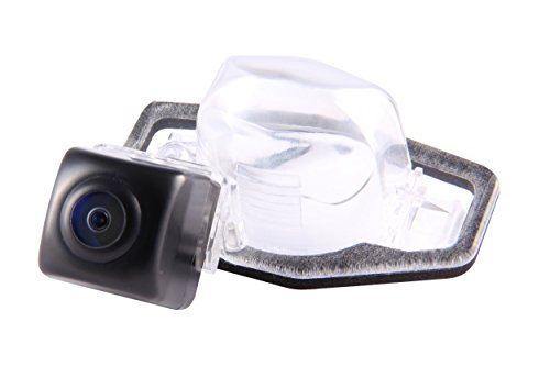Gazer CAS60 Car Rear-view Backup Camera License Plate Light Mount for Acura MDX/ Honda Civic 5D/ Honda Crosstour/ Honda CR-V/ Honda FR-V/ Honda HR-V/ Honda Jazz/ Honda Stream (Honda Civic Backup Camera compare prices)