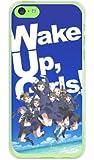 [iPhone 5c/au専用] WUG スマートフォンケース Wake Up, Girls! ウェイクアップガールズシリーズ 全員集合オールメンバーズ (オーシャンブルー) (ソフトTPUクリア) 【光沢なし】 AAPI5C-TPCL-711-S375