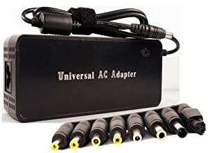 120W Universal Laptop AC Power Supply for IBM DELL HP/Compaq SAMSUNG SONY TOSHIBA ACER FUJITSU ASUS AMS AVERATEC Compaq Gateway HP NEC Panasonic Sharp Dynabook Winbook laptops (output support:15 Volts,16 Volts,18 Volts, 19 Volts,