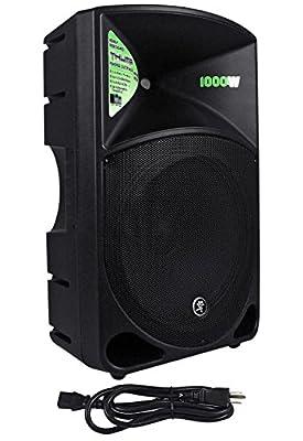 "Mackie Thump15 Thump-15 15"" 1000 Watt Powered DJ PA Speaker+Odyssey Speaker Bag"