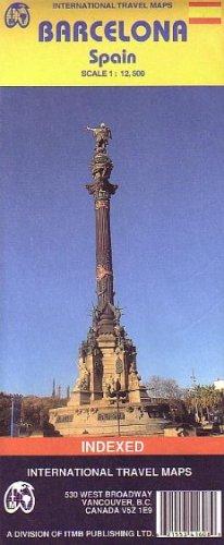 Barcelona (Spain) 1:12,500 Street Map (International Travel Maps)