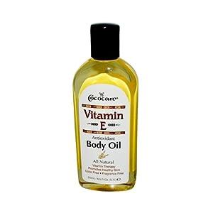 Cococare Vitamin E Antioxidant Body Oil, 8.5 Ounce