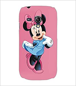 PrintDhaba Minnie Mouse D-5334 Back Case Cover for SAMSUNG GALAXY S3 MINI (Multi-Coloured)