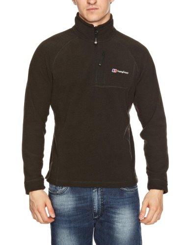 Berghaus Kantishna Half Zip Men's Fleece - Black Marl, X-Large