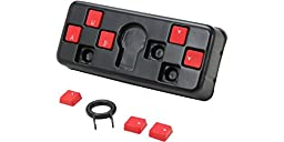 Azio Rubberized Gaming Keys for Gamers (ACC222)