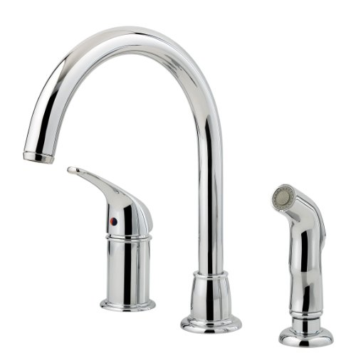 Best Price Pfister Fwk1680c 1 Handle 3 Hole Cagney Kitchen Faucet Polished Chrome Blog