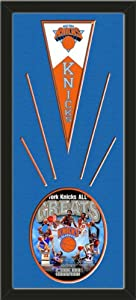 New York Knicks Wool Felt Mini Pennant & New York Knicks All Time Greats... by Art and More, Davenport, IA
