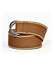 Anekaant Brown Cotton Belt