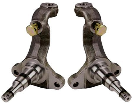 NEW SOUTHWEST SPEED STOCK REPLACEMENT SPINDLES FOR DISC BRAKES ON 64-72 GM A-BODY, 67-69 F-BODY, 68-74 X-BODY, STEERING KNUCKLES, 1964 1965 1966 1967 1968 1969 1970 1971 1972 1973 1974 CHEVELLE EL CAMINO MONTE CARLO NOVA CENTURY SKYLARK CUTLASS 442 GTO LEMANS GRAND PRIX (Steering Knuckle Spindle compare prices)