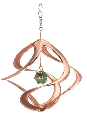 """Red Carpet Studios Ltd. Cosmix Spinner - Copper with Single Planet - 11"""" long"""