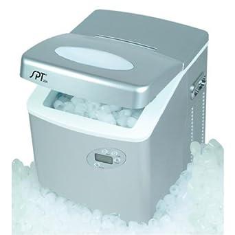 Amazon Com Sunpentown Im 101 Portable Ice Maker With Lcd