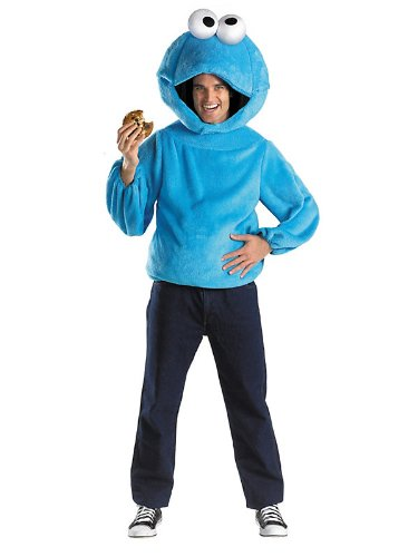 Cookie Monster Adult Sesame Street Costume