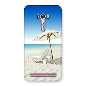 Ajay Enterprises Beautufull Beach Back Case Cover for Zenfone Selfie