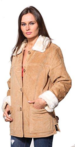Wilda Women's Sophie Suede Coat