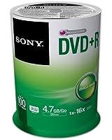 DVD+R 16x Spindle 100 Pcs