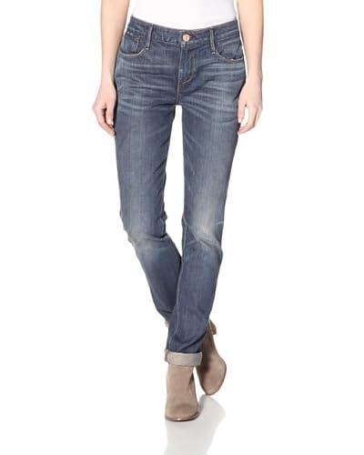 Earnest Sewn Women's Zazo Straight Jean  - Cameron