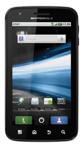 Motorola Atrix Unlocked 4G Cell Phone with Android 2.2 OS. 4-inch HD touchscreen