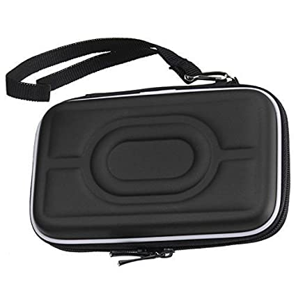 UNMCORE™-Waterproof-EVA-Case-For-2.5-Portable-Hard-Drive-&-GPS-Camera-and-External-Battery-Pack-Black