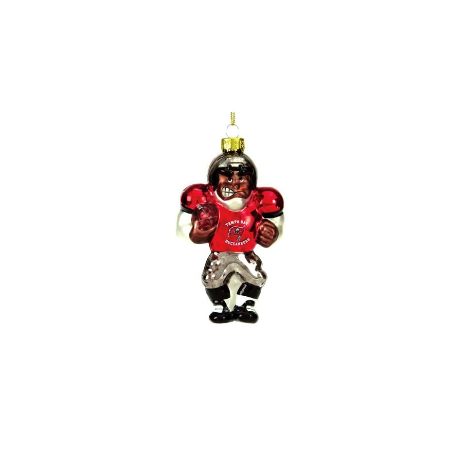 BSS   Tampa Bay Buccaneers NFL Glass Player Ornament (5