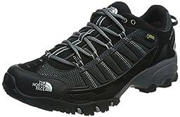 Men\'s The North Face Ultra 109 GTX Trail Running Shoe TNF Black/Dark Shadow Grey Size 10 M US