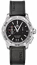 TAG Heuer Aquaracer Mens Alarm Watch Wap111Z.Ft8009