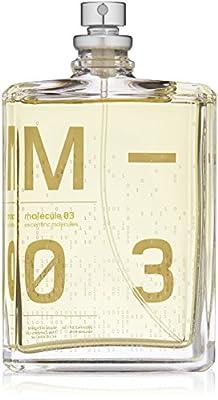 Escentric Molecules Molecule 03 Eau de Toilette Spray, Unisex, 3.5 fl. oz. / 100ml