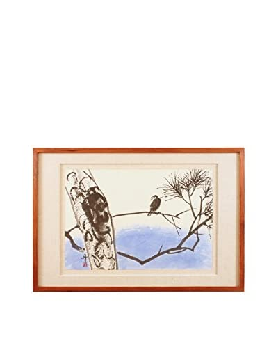 Starling Painting, White