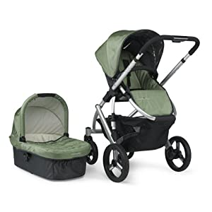 UPPAbaby Vista Stroller, Green Carlin (Discontinued by Manufacturer)