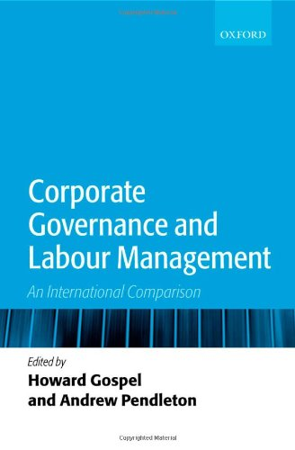 Corporate Governance and Labour Management: An International Comparison